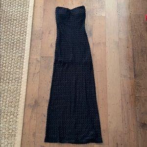Luxe Apothetique Crochet Maxi Dress